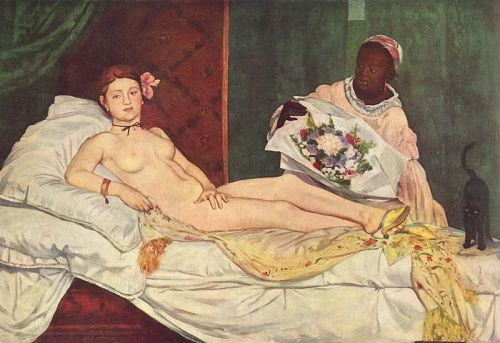 Olympia,Edouard Manet,mules,odalisque,prostituée,putain,Orsay,nue
