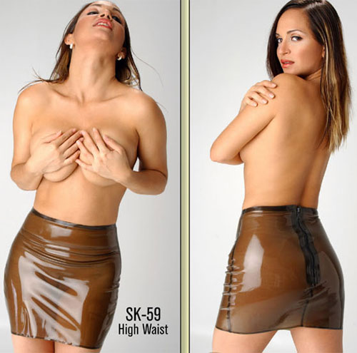 polymorphe,latex,transparent,mini-jupe,miniskirt,jupe