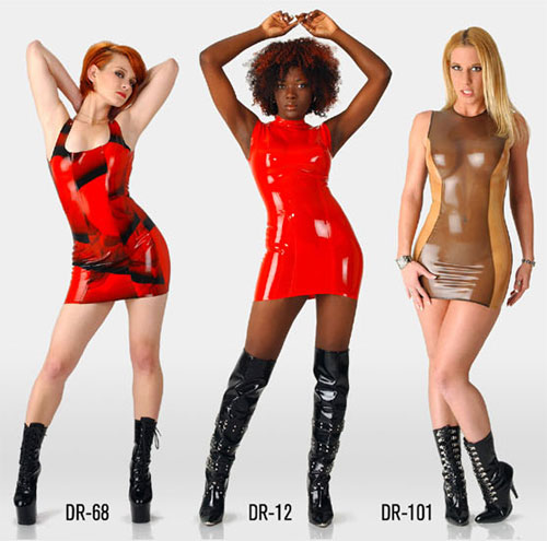 polymorphe,robe,latex,transparent,mini,miniskirt,mini-jupe