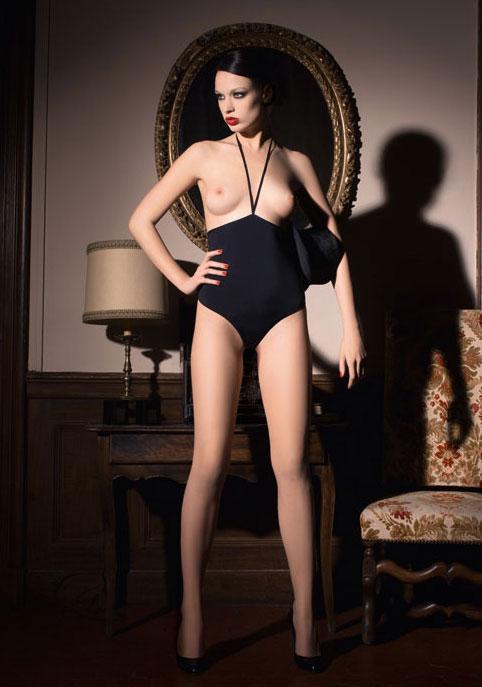 maisonclose lingerie,seins nus