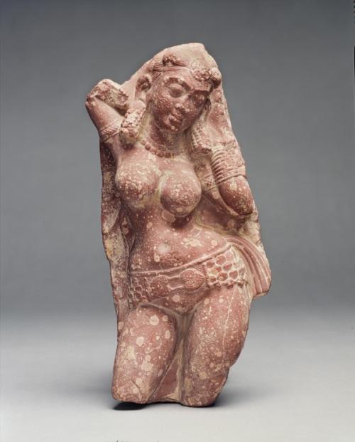 yakshi,inde,statue,mathura,déesse,ceinture,seins nus