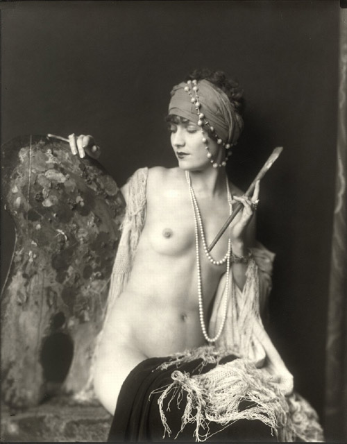 alice wilkie,alfred cheney johnston,ziegfeld,topless,vintage,pin up