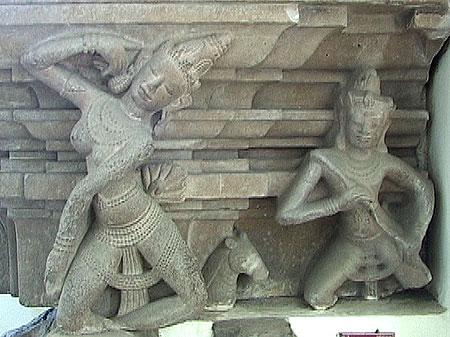 apsara, gandharva,piedestal,tra-kieu,cham,danang