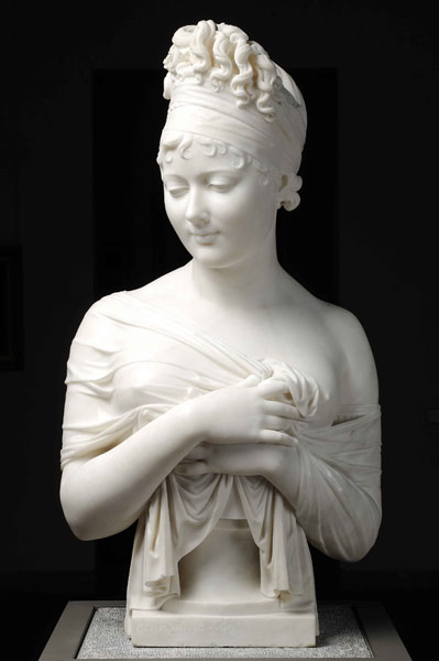 juliette récamier,buste,joseph chinard,chinard,musée des beaux arts lyon, lyon