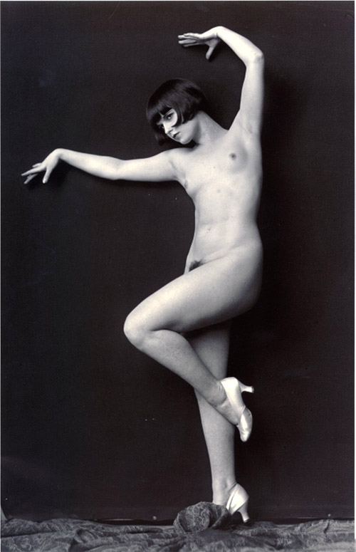 louise brooks,alfred cheney johnston,ziegfeld,vinrage,pinup,topless,nue