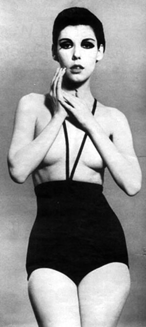 peggy moffit,william claxton, gernreich,life, monokini