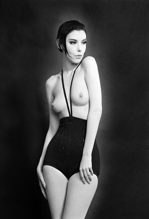 Peggy Moffitt,william claxton, monokini