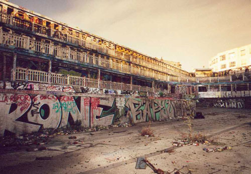 piscine molitor,paris,abandon,délabrement