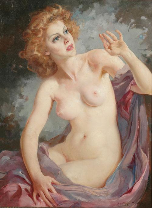 Maria, Szantho, 1944,beauté blonde
