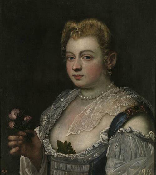 domenico tintoretto jeune fille vénitienne