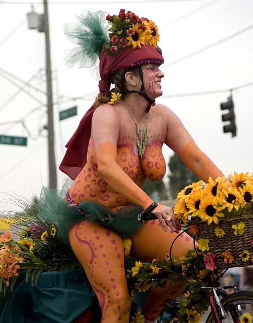 fremont,solstice,nudisme,vélo,parade