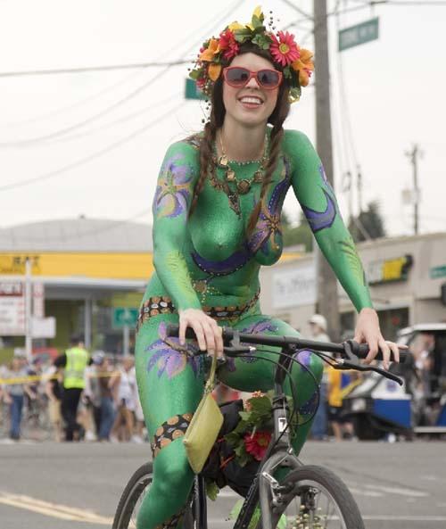 fremont,solstice,parade,nudisme,vélo