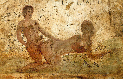 fresque,sodomie,casa del re di prussia,pompei,lupanar,brothel,prostitution,roman