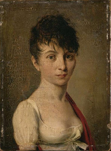 louis leopold boilly,madame arnault de gorse,cheveux courts