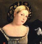 """Femme au chapeau dit """"il balzo"""" - Gallerie dell'Accademia, Venise"""