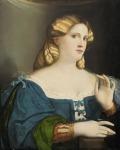 Jeune femme en bleu à l'éventail - Kunsthistorisches Museum, Vienne