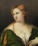 Jeune femme en vert au coffret, Kunsthistorisches Museum, Vienne