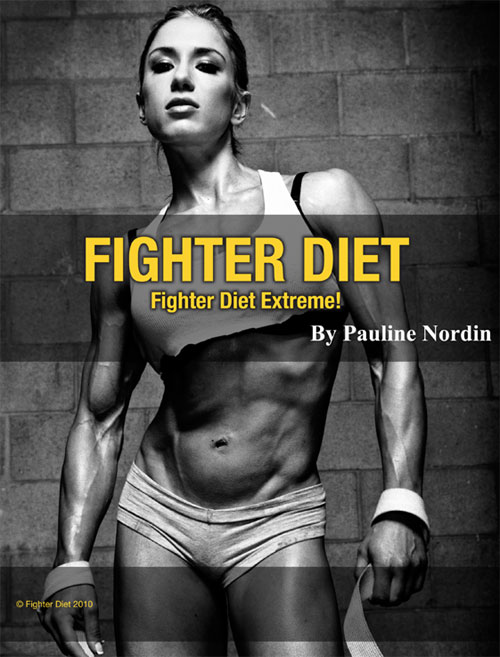 pauline nordin, fighter diet extreme