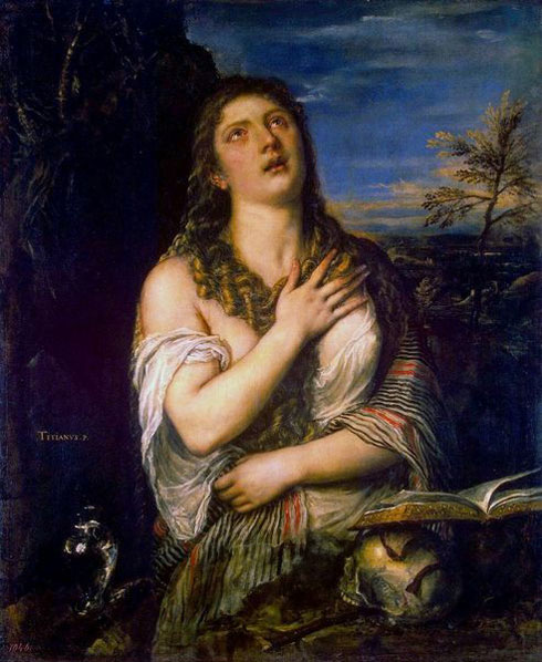 Le Titien, titian,tiziano,marie-madeleine,magdalene
