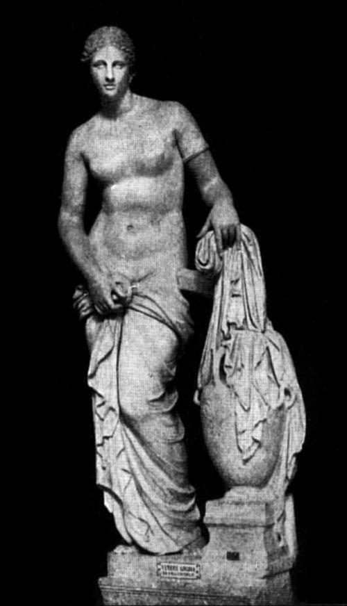 aphrodite colonna vêtue, dressed colonna aphrodite