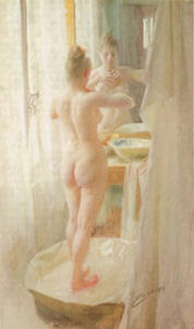 anders zorn,le tub
