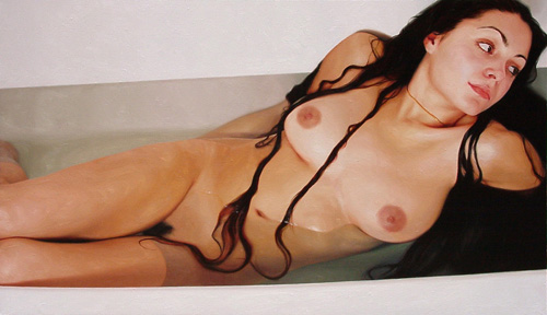cynthia westwood ,lying-in-bath 2007