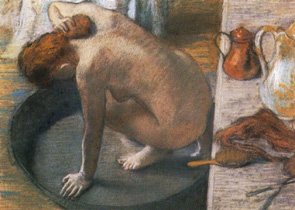 edgar degas, le tub,1886,orsay