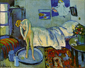 picasso, chambre bleu,phillips collection