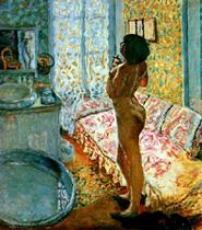 Pierre Bonnard, Model in backlight, nu a contre jour, v1908, mrba de belgique