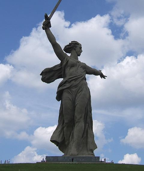 Rodina-Mat-Zovyot,Volgograd,mère russie