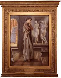 burne-jones,the heart desires,pygmalion