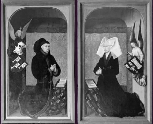 triptyque jugement dernier,rogier van der weyden, beaune