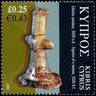 timbre figurine Kissonerga- Mosfilia  ca. 3500-3200 BC cyprus museum nicosia