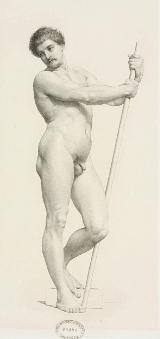 Nu par William Joseph Barbotin Ecole des Beaux Arts