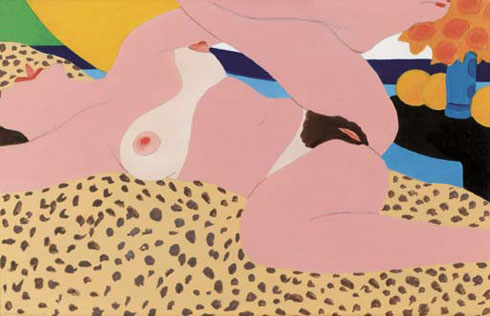 Tom Wesselmann - Study for the Great American Nude, #87 - 1966 - Collection privée ? - Source : Christie's
